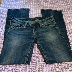 Silver Tuesday jeans size 28
